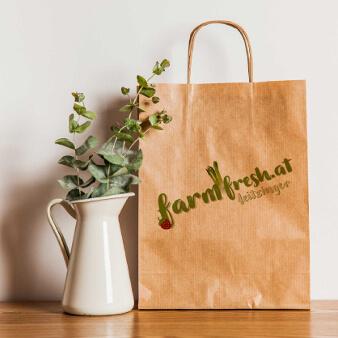 Bio Bauernhof Logo Natur farmfresh.at
