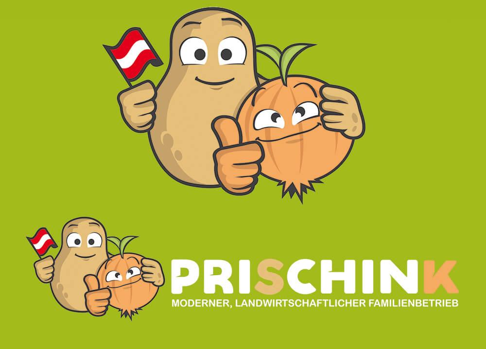 Bio Logo Bauernhof Prischink