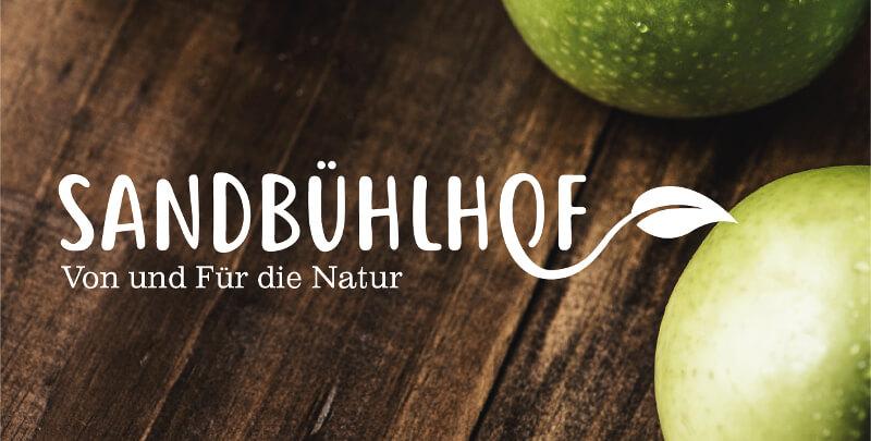 Bio Logo Natur Bauernhof Sandbühlhof