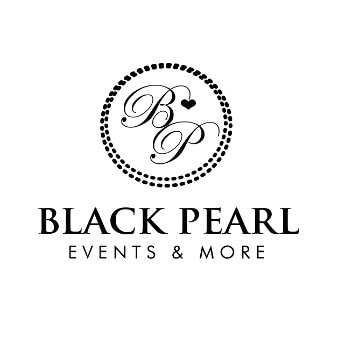 Black Pearl Events And More 688985 Logo Schwarz Weiß