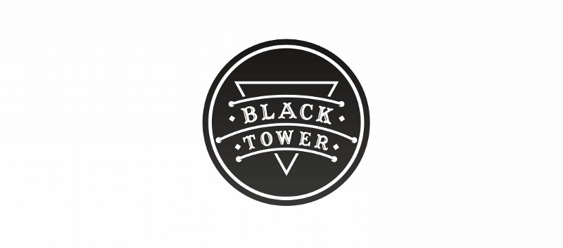 Black Tower Black White Logo 943691