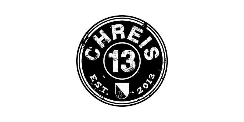Chreis 13 Schwarz Weiß Logo 331798