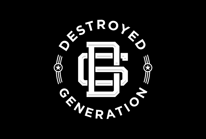 Destroyed Generation 253381 Black And White Logo