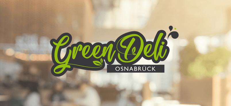 Green Deli Logo Design Bio Natur