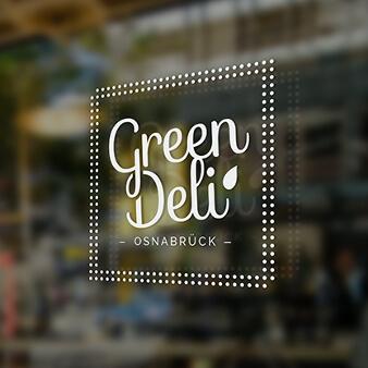 Green Deli Osnabrück Logo Design Bio