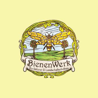 Logo Bio Imkerei Bienenwerk