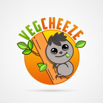 Logo Bio vegan VegCheeze