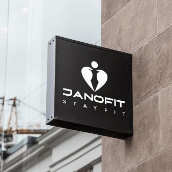 Logo Black White Design Flat Design Janosfit 994894