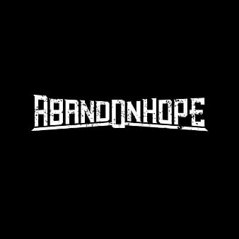 Logo Schwarz und Weiß Abandonhopp 915477