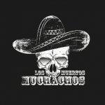 Los Muertos Muchachos 114772 Logo Schwarz Weiß