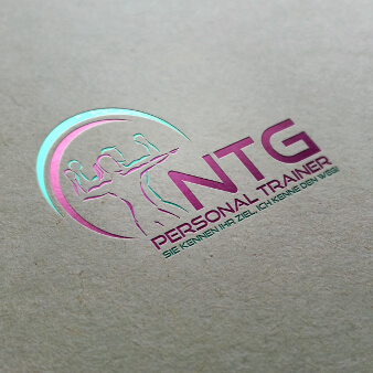 NTG Personal Trainer Sport Logo 294298