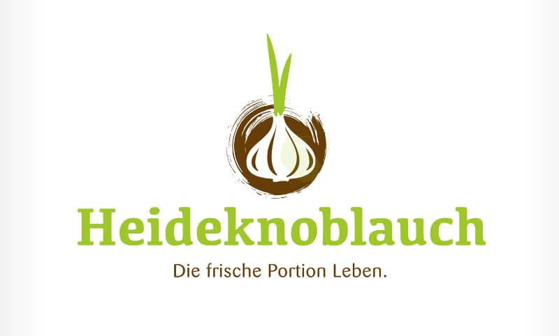 Natur Logo Gemüse Heideknoblauch