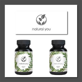 Natur Pflanzen Logo Natural You