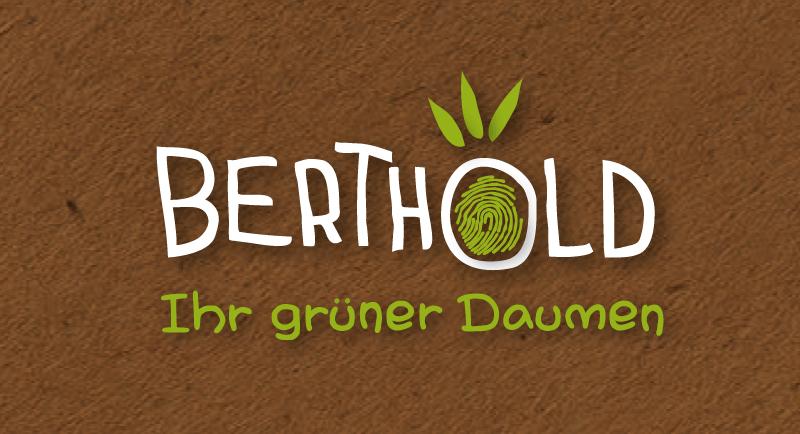 Pflanzen Logo Natur Berthold