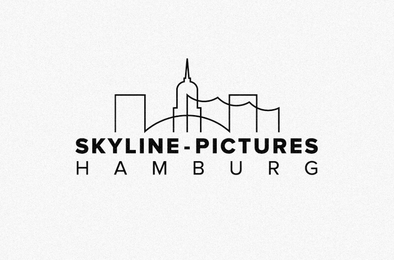 Skyline Pictures Hamburg 288391 Black And White Logo