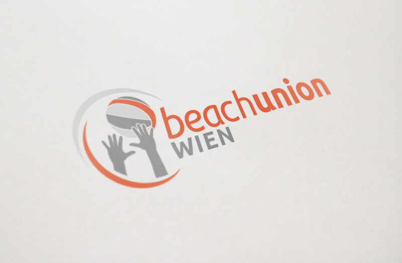Sportverein Logo Design Beachunion Wien 736275