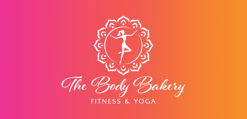 The Body Bakery Fitness Yoga Sport Logo 427928