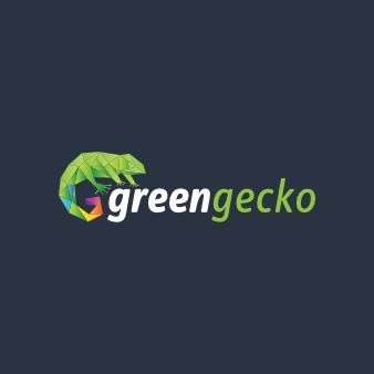 bio logo öko green gecko