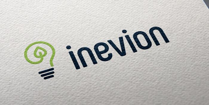 nachhaltigkeit logo design inevion