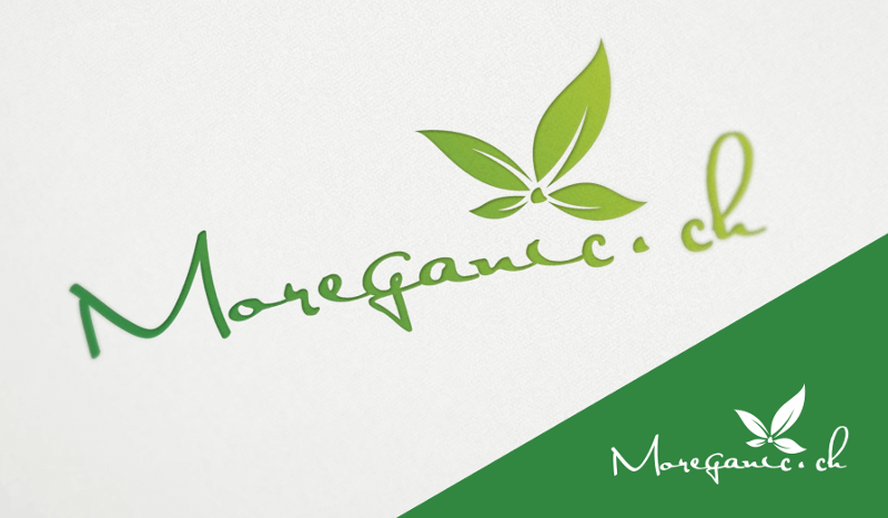 nachhaltigkeit logo vegan moreganic