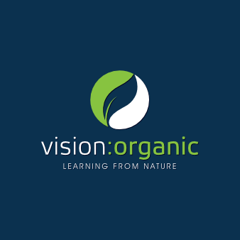 vision organic organsiches logo design