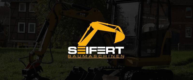 Seifert Baumaschinen 751841 Bau Logo Architektur