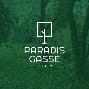 baum logo grün paradies gasse wien