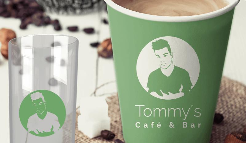 grüne logos Café