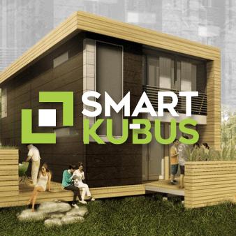 smart kubus grünes typo logo
