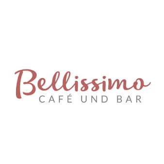 237227 Bellissimo Cafe und Bar Logo Typografie