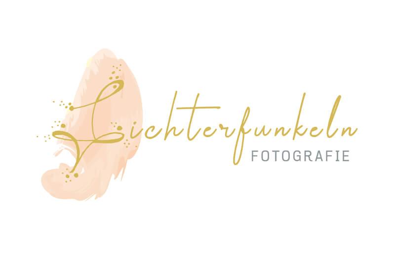 488853 Lichterfunkeln Fotografie Logo Typografie