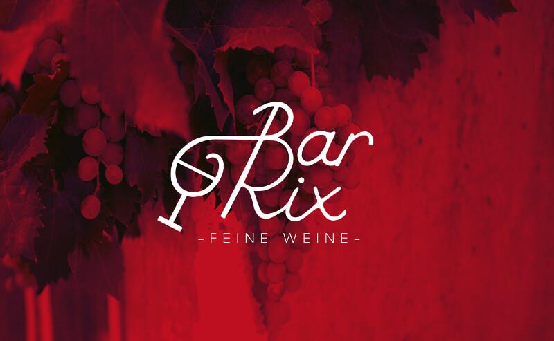 527282 Bar Rix Feine Weine Wortmarke Logo