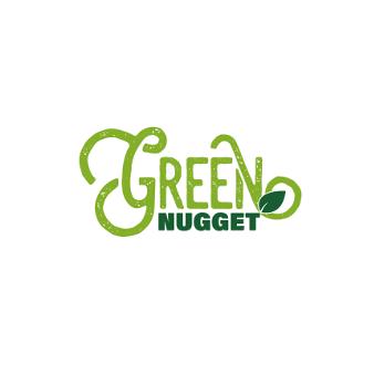 992638 Green Nugget 3 Logo Schrift