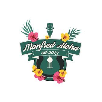 Banner Logo Design Manfred Aloha