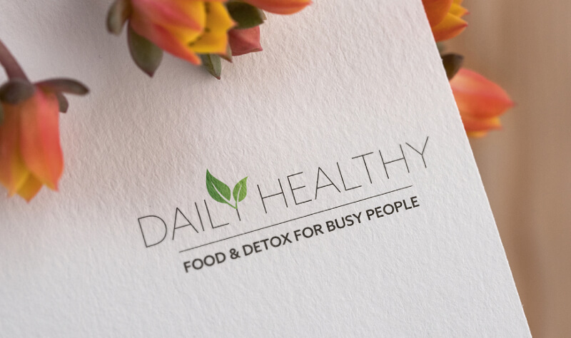 Daily Healthy 838126 Typo Logo