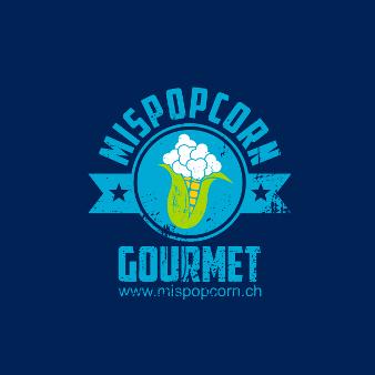 Emblem Logo MISPOPCORN Gourmet