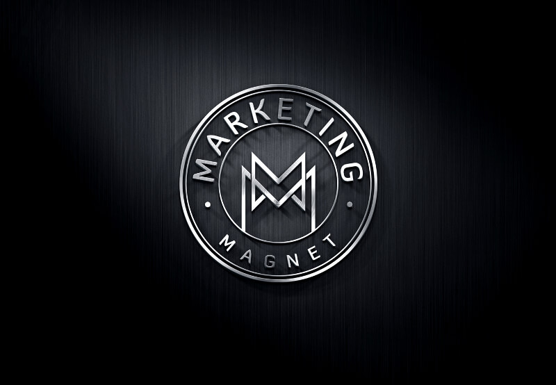 Emblem Logo Marketing Magnet