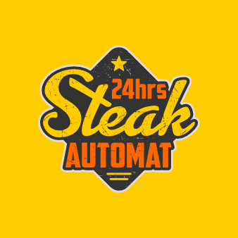 Emblem Logo Steak Automat