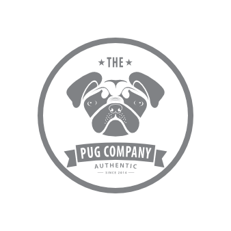 Emblem Logo The Pug Company
