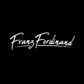 Franz Ferdinand Typografie Design 275632