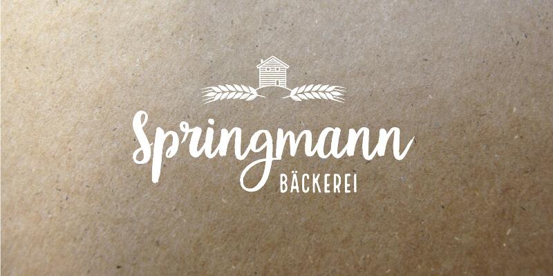 Logo Design Typo 246228 Springmann Bäckerei