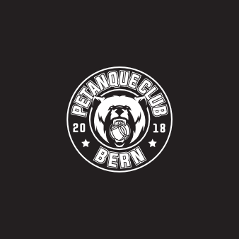 Logo Emblem Rund BERN Petanque Club