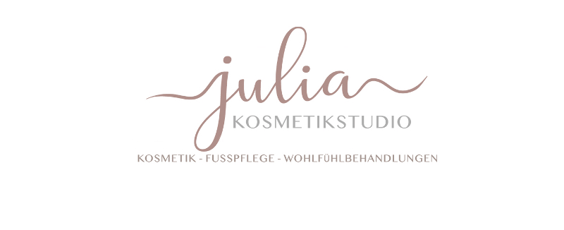 Typo Logo 185471 Julia Kosmetikstudio