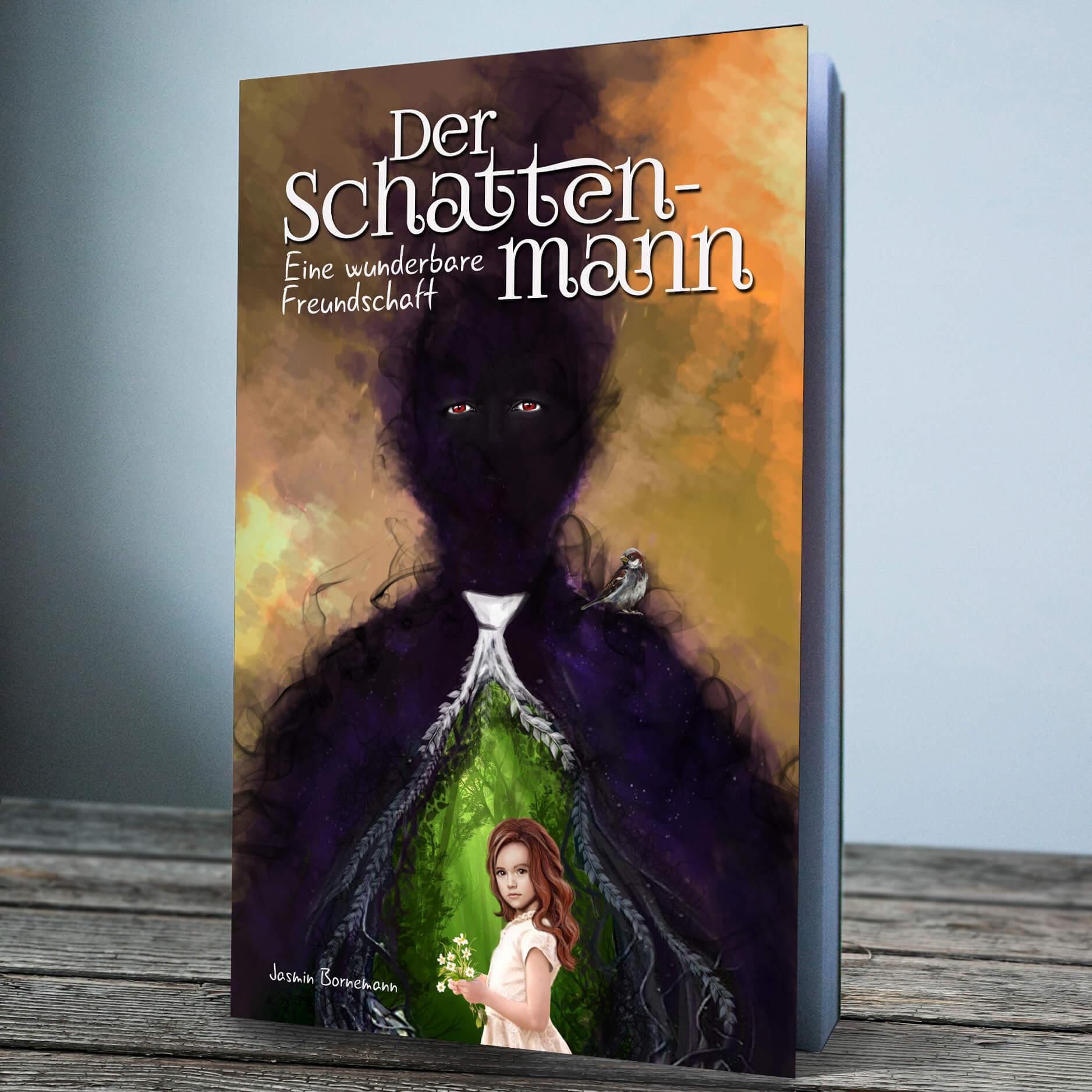 eBook Cover Design Jasmin Bornemann der Schattenmann