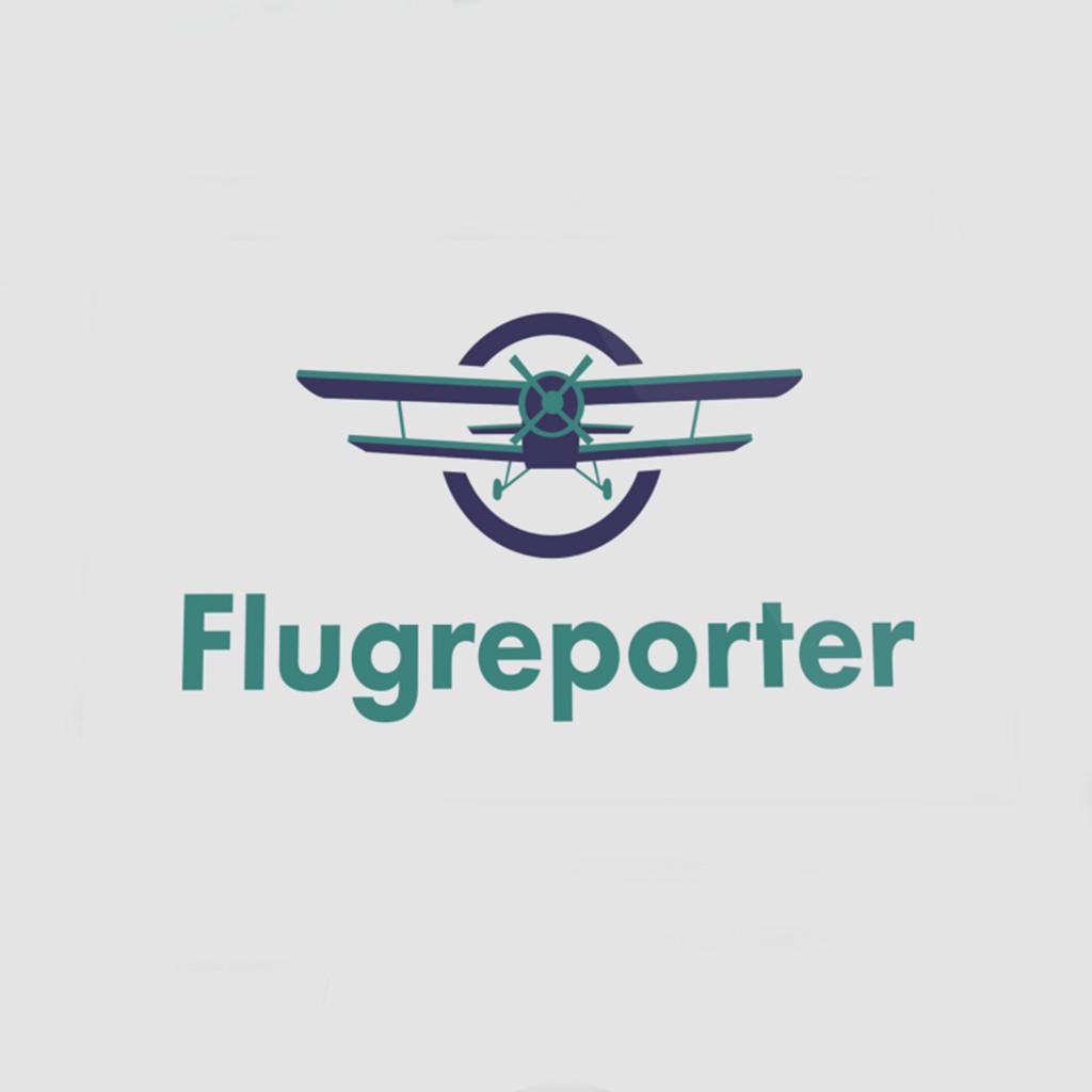 flugreporter logo design youtube