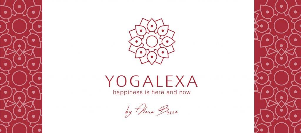 logo youtube yogalexa yoga kanal