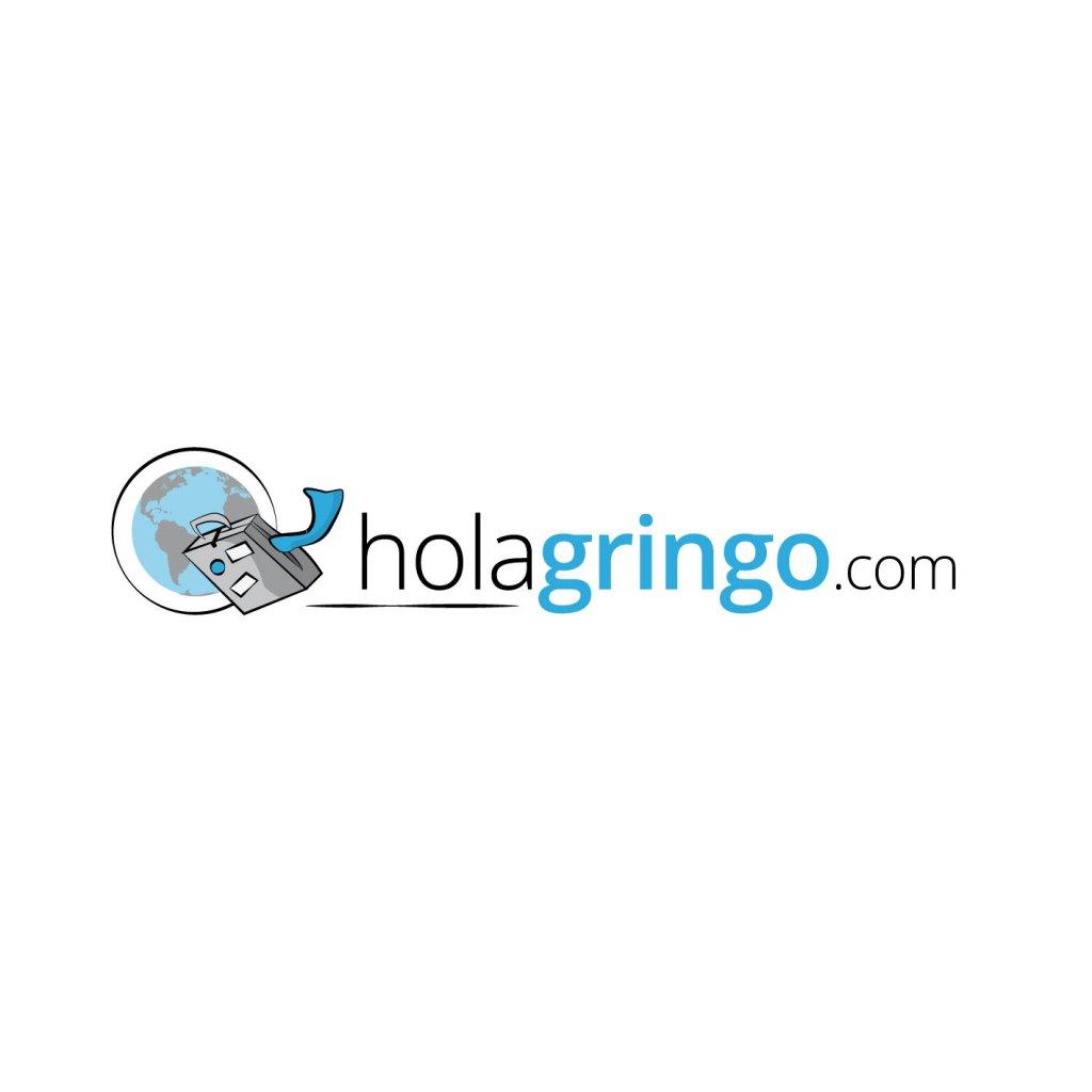 vlog logo hola gringo