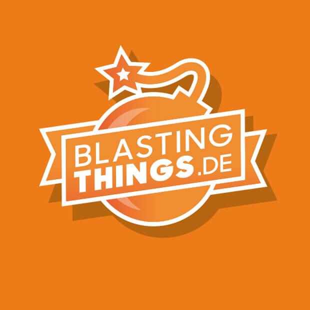 youtube logo design blastingthings.de