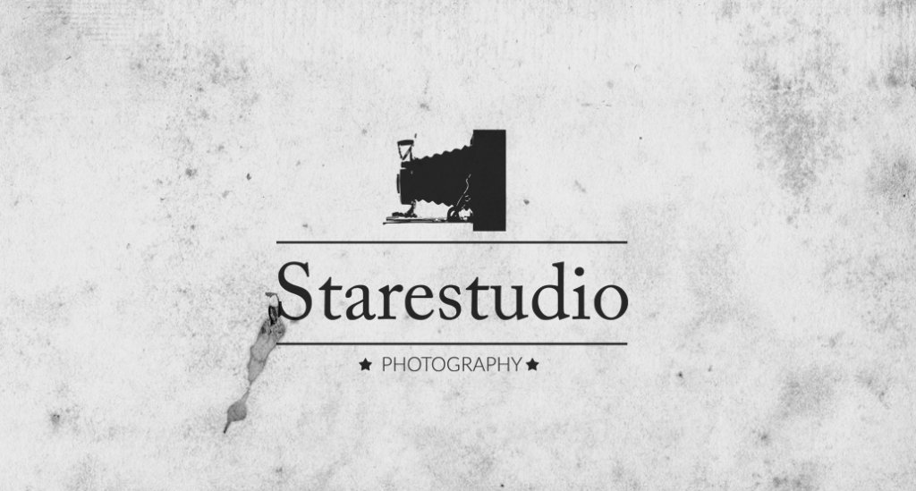 441218 Stare Studio Retro Logo Design