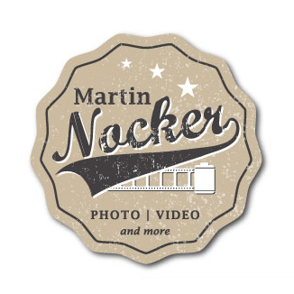 936789 Martin Nocker Photo Video Emblem Logos Vintage Look